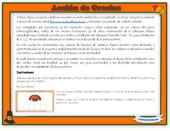Thanksgiving - Literacy activities