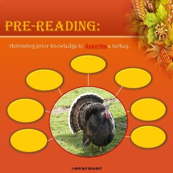 Thanksgiving Literacy and Language Unit