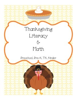 Thanksgiving Literacy and Math