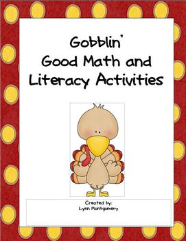 Thanksgiving Literacy and Math Activities