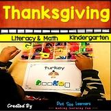 Thanksgiving | Literacy | Math | Social Studies | November | PK K