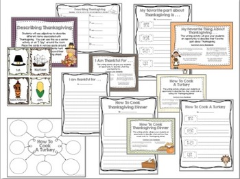 Thanksgiving Literacy and Math Unit
