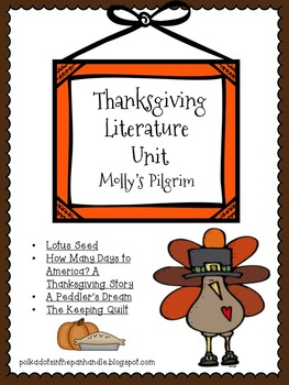 Thanksgiving Literature Unit: Molly's Pilgrim