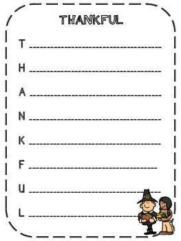 Thanksgiving Litercy Bundle- Graphic Organizers, Word Work and Writing Prompts