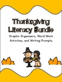 Thanksgiving Literacy Set- Graphic Organizers, Word Work a