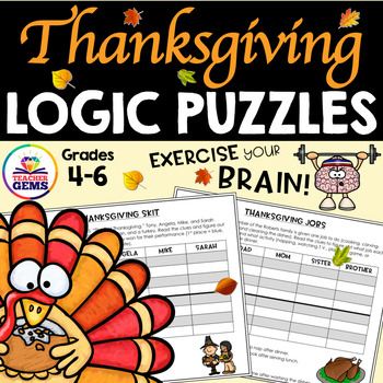 Thanksgiving Logic Puzzles