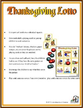 Thanksgiving Lotto