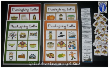 Thanksgiving Lotto Game
