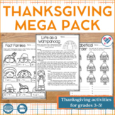Thanksgiving MEGA Pack 3rd-5th