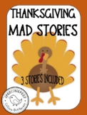 Thanksgiving Mad Libs [3 Stories Included]