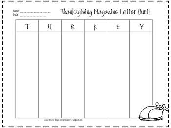 Thanksgiving Magazine Hunt