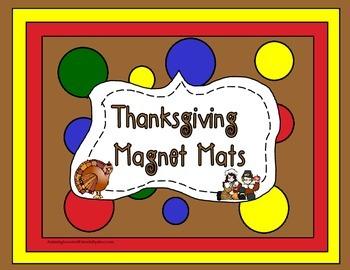 Thanksgiving Magnet Mats