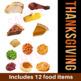 Thanksgiving Make A Meal Activity & Flash Cards | Vocabulary | VIPKid ESL Reward