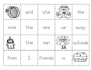 Thanksgiving Making Sentences