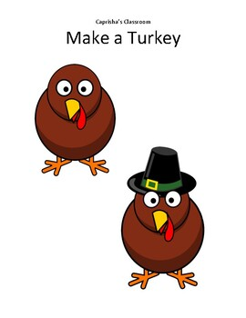 Thanksgiving - Make a Turkey - VIPKid, GoGoKid, PalFish, MagicEars