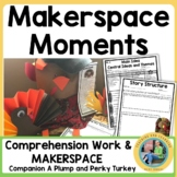 Thanksgiving Makerspace Activities in Literature:{A Plump and Perky Turkey}
