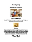 Thanksgiving Manners & Traditions
