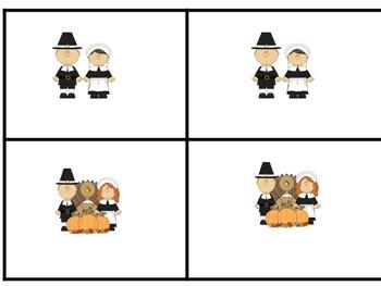 Thanksgiving Match Game