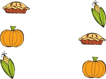 Thanksgiving Matching Game
