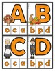 Thanksgiving:  Matching Uppercase & Lowercase Letters