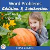 Thanksgiving Activities: Thanksgiving Math Word Problems F