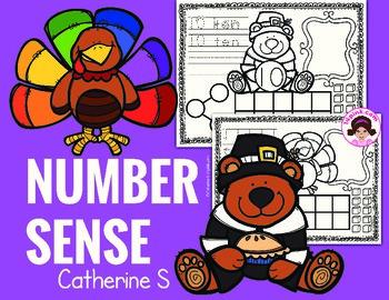 Thanksgiving Math Number Sense