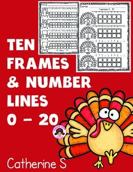 Ten Frame Worksheets