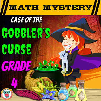 Thanksgiving Math Activity: Math Mystery {GRADE 4 Mixed Math Review}