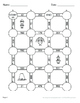 Thanksgiving Math: 2-Digit By 1-Digit Multiplication Maze