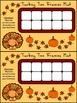 Thanksgiving Math Activities: Turkey Thanksgiving Ten Frames Activity Packet