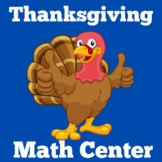 Thanksgiving Math Center | First Grade