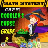 2nd Grade Thanksgiving Activity: Thanksgiving Math Mystery - Gobbler's Curse