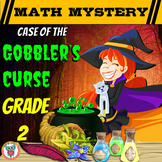 2nd Grade Thanksgiving Activity: Thanksgiving Math Mystery - Gobbler's Curse