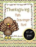 Thanksgiving Math Scavenger Hunt