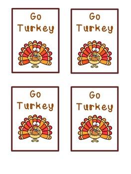 Thanksgiving Math: Multiplication Game
