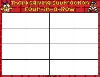 Thanksgiving Math Game