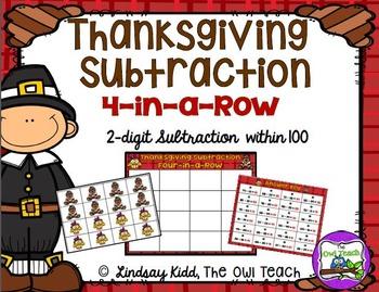 Thanksgiving Math Games BUNDLE