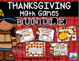 Thanksgiving Math Games BUNDLE