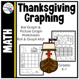 Thanksgiving Graphing Bar Graphs and Picture Graphs