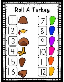 Thanksgiving Math Activities