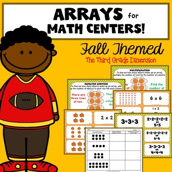 Arrays Worksheets and Task Cards