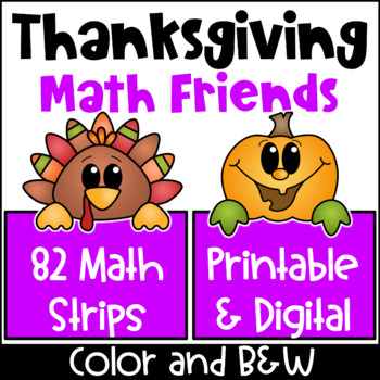 Thanksgiving Math Activities: Thanksgiving Place Value and Number Friends