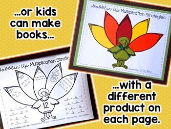 Thanksgiving Multiplication - Thanksgiving Craft - Thanksgiving 3rd Grade