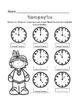 Thanksgiving Math for First Grade or Kindergarten - Center