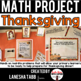Thanksgiving Math Project- Primary