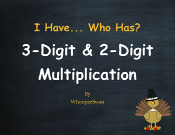 Thanksgiving Math: 3-Digit and 2-Digit Multiplication - I