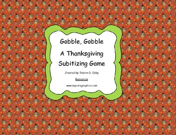 Thanksgiving Math: A Thanksgiving Counting Game