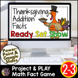 Thanksgiving Math Games | Thanksgiving Addition | Thanksgiving Math Activities