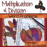 Thanksgiving Math Activities Multiplication and Division Multi-Digit