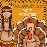 Thanksgiving Math Activities - Counting Objects